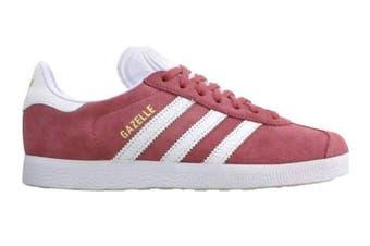 Adidas Originals Women's Gazelle Shoes (Maroon/White)