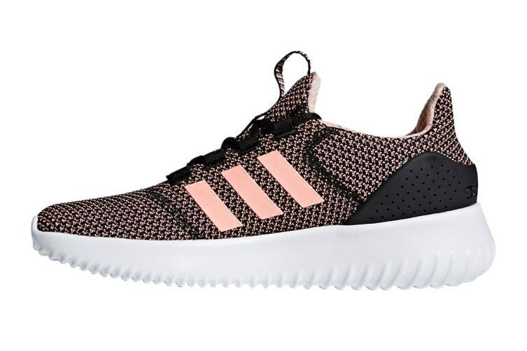Adidas Neo Women's Cloudfoam Ultimate Shoe (Core Black/Orange/White) - US 6.5