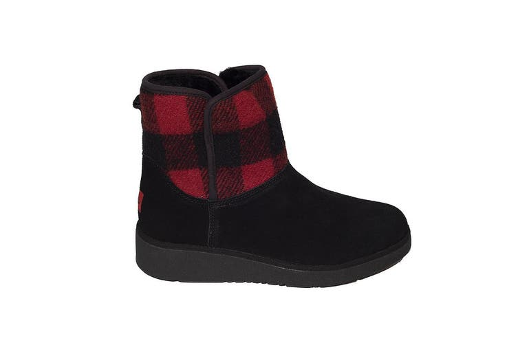 Millers Uggs Wedge Sock Ugg Boot Height 7 inch- Red - 6