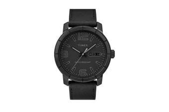 TIMEX  -MODERN 44MM BLACK  WATCH