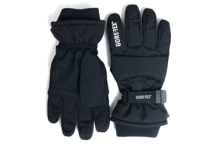 GORE-TEX Kids Snow Gloves - Black - KIDS - M