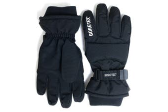 GORE-TEX Kids Snow Gloves - Black - KIDS - S