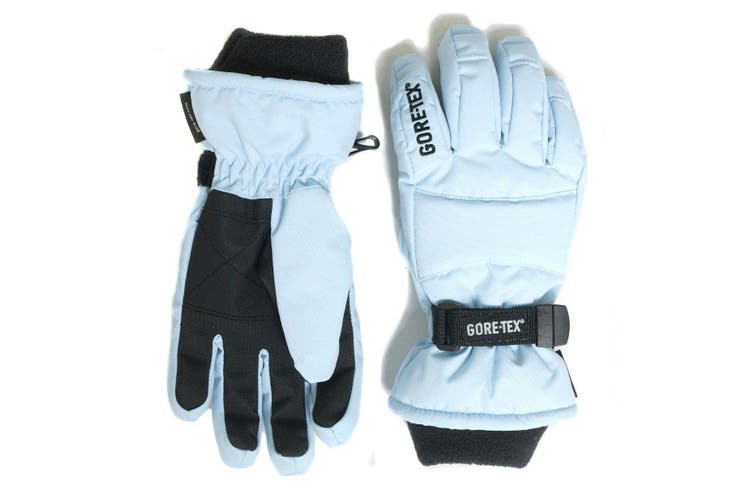 GORE-TEX Kids Snow Gloves -  Powder Blue - KIDS - S