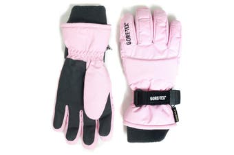 GORE-TEX Womens Snow Gloves - Pink