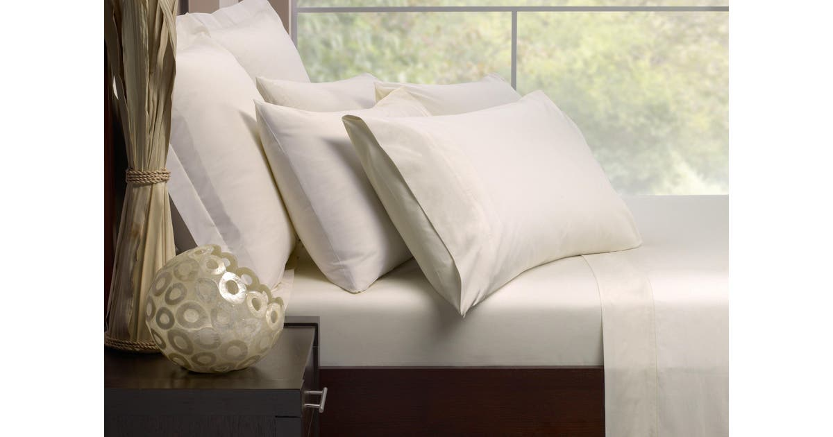 Queen Bed Sheet Set, 1000 Thread Count Cotton Queen Bed Sheets