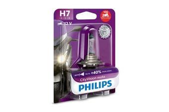 Philips CityVision Moto H7 PX26D 55W Motorcycle Motorbike Headlight Bulb