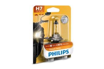 Philips VisionMoto H7 PX26D 55W Motorcycle Motorbike Headlight Bulb