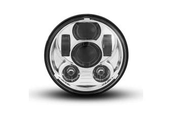 "5.75"" Six Projector LED Motorcycle Chopper Cafe Racer Headlight INSERT"
