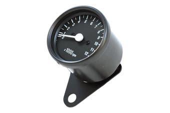 Mechanical Motorcycle Chrome Tachometer 1:7 Ratio suit Cafe Racer Honda