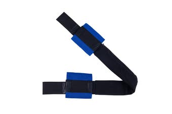 Blue Handle Bar Harness For Motorcycle Tie Down Straps Trailer Scooter Handlebar