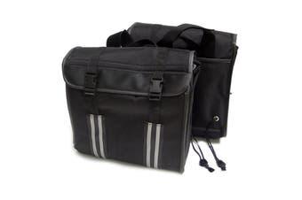 Touring Motorcycle Motorbike Pannier Soft Saddlebags Saddle Bag Side Luggage