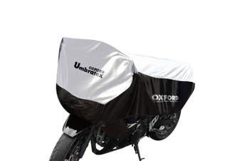 Oxford CV108 Extra Large Motorcycle Umbratex Top Half Waterproof Bike Cover