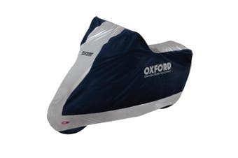 Oxford CV204 Large Motorcycle Aquatex Weather Resistant Bike Cover