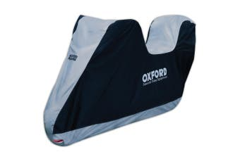 Oxford CV205 Large Motorcycle Aquatex Weather Resistant Bike and Top Box Cover