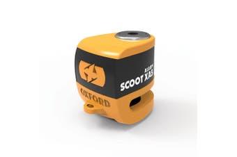 Oxford LK288 Motorcycle Scooter XA5 Alarm Brake Disc Lock Orange/Black