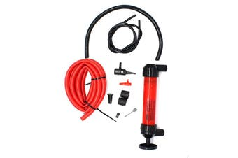 Motorcycle Car Automotive Home Manual Hand Siphon Transfer Air Pump