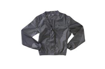 LARGE Ixon Womens Misty Compact Waterproof Motorcycle Wet Weather Rain Jacket