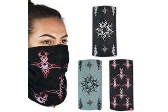 Oxford Comfy 3 Pack Tribal Head Neck Windproof Face Mask Weather Protection
