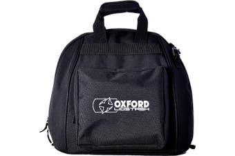 Oxford OL260 Motorcycle Motorbike Black Full Faced Helmet Lidstash Bag