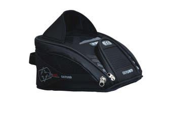 Oxford OL285 M2R Mini 2L Magnetic Motorcycle Motorbike Black Tank Bag