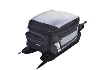 Oxford OL443 Medium 18L Strap On F1 Motorcycle Motorbike Black Tank Bag