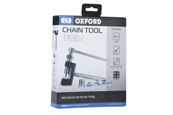 Oxford OX777 Three in One Motorcycle Motorbike Chain Press Break Rivet Tool