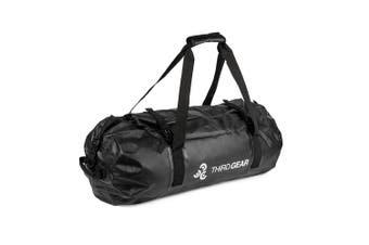 Weather Water Proof Travel Heavy Duty PVC Tarpaulin Barrel Gear Duffle Bag 50 L