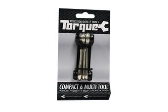 Oxford TL201 Torque Compact 6 in 1 Aluminium Folding Tool For Motorcycle Bike