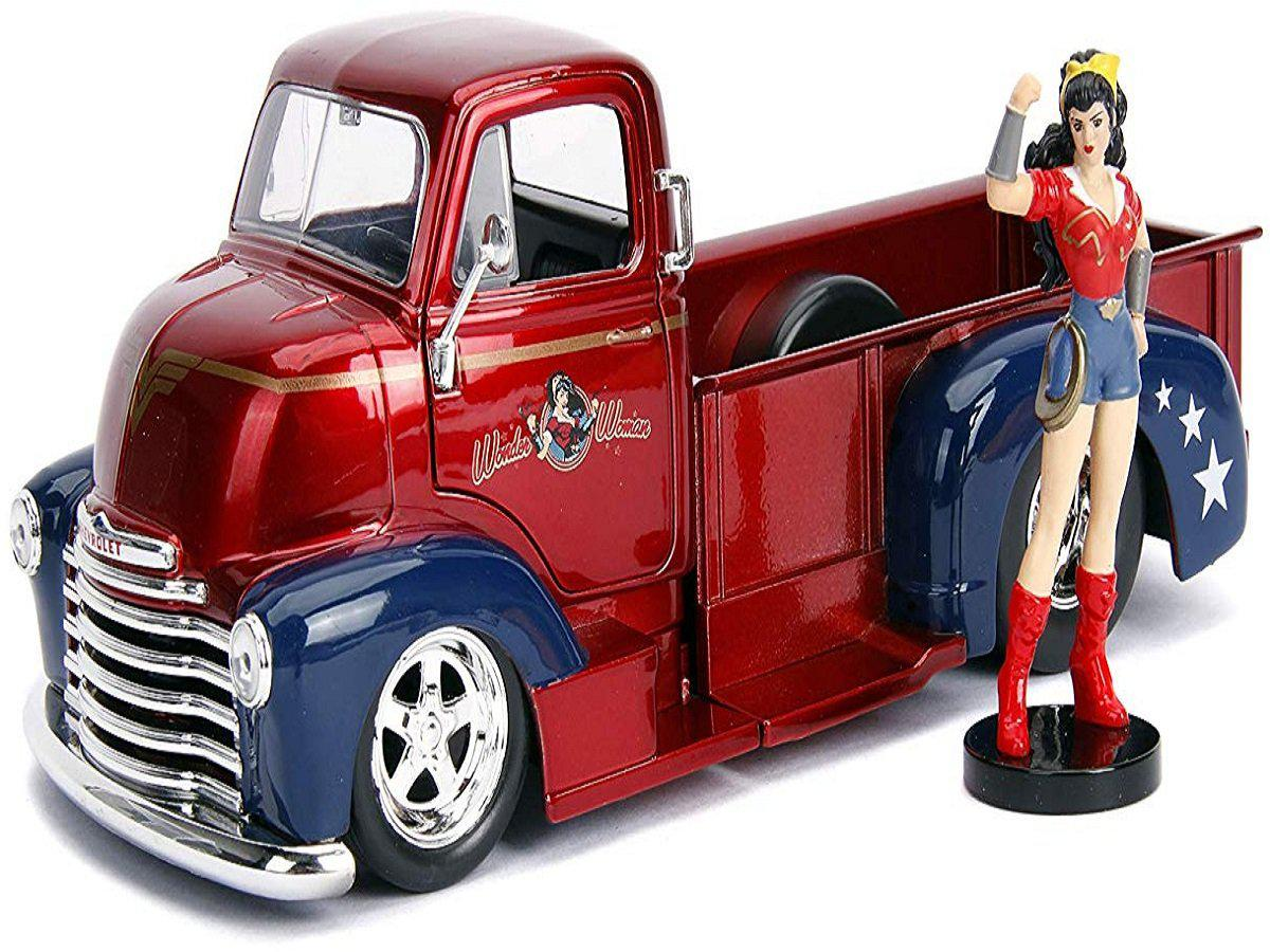 Wonder Woman Chevy Pickup 1 24 Scale Hollywood Ride Kogan Com