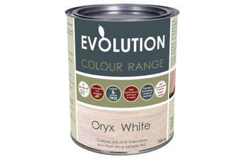 Evolution Stain - White Oryx