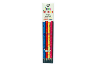 Set of 4 Scented HB Pencils