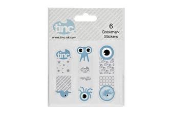 Reusable Bookmark Stickers Tonkin : Blue