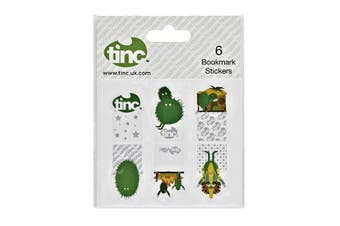 Reusable Bookmark Stickers Huggas : Green