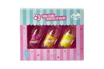 Set of 3 Bottle Lip Balms