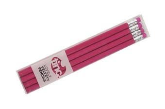 Lovely Velvety Lead Pencils : Pink