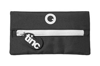 Tribal Giant Zip Pencil Case : Black