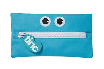 Tribal Giant Zip Pencil Case : Blue