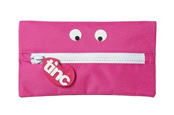 Tribal Giant Zip Pencil Case : Pink