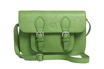 Satchel / Shoulder Bag : Green