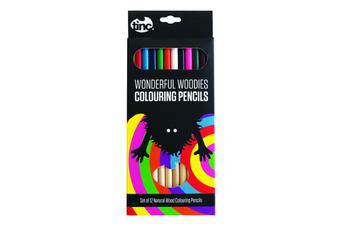 Wonderful Woodies Colouring Pencils