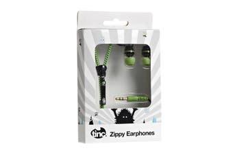Zippy Earphones : Green