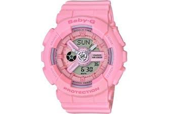 Casio Baby-G Analogue/Digital Female Pink Watch BA110-4A1 BA-110-4A1DR