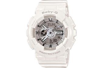 Casio Baby-G Analogue/Digital Female White Big Case Series Watch BA-110-7A3DR
