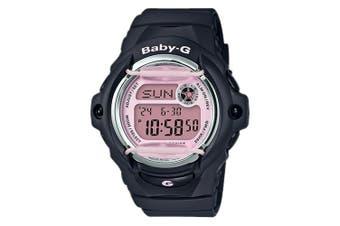 Casio Baby-G Brilliant Feminine Black Purple Summertime Fashion Digital Watch BG169M-1 BG-169M-1DR