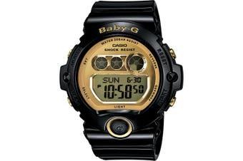 Casio Baby-G Digital Female Black/Gold Watch BG6901-1 BG-6901-1DR
