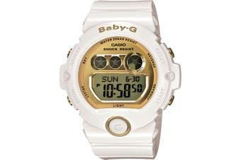 Casio Baby-G Digital Female White/Gold Watch BG6901-7 BG-6901-7DR