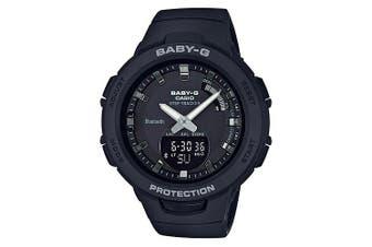 Casio Baby-G G-SQUAD Series Bluetooth Black Analogue/Digital Watch BSAB100-1A BSA-B100-1ADR