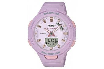 Casio Baby-G G-SQUAD Series Bluetooth Pink Analogue/Digital Watch BSAB100-4A2 BSA-B100-4A2DR