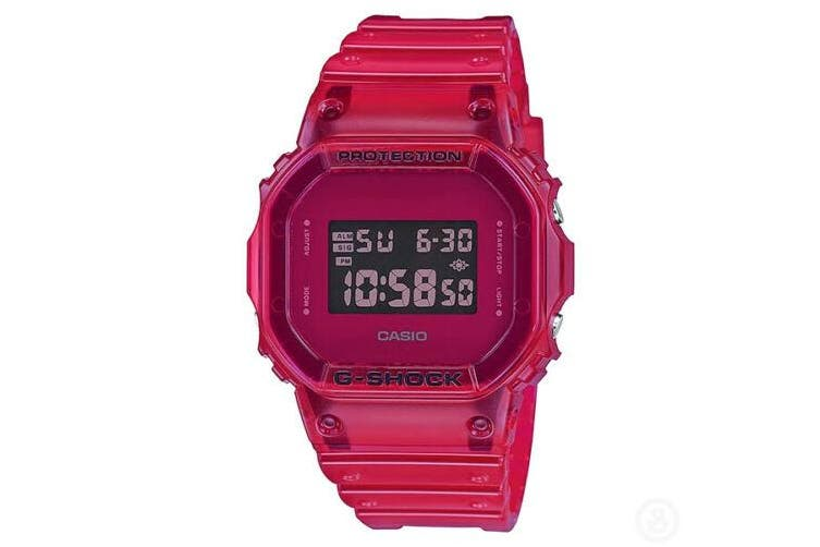 Casio G-Shock Special Colour Red Edition Digital Watch DW5600SB-4 DW-5600SB-4DR