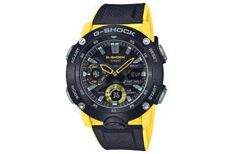 Casio G-Shock Analogue/Digital Carbon Core Guard Black/Blue Men's Watch GA2000-1A9 GA-2000-1A9